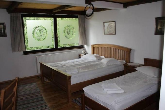 Cameră dublă (cu pat suplimentar)